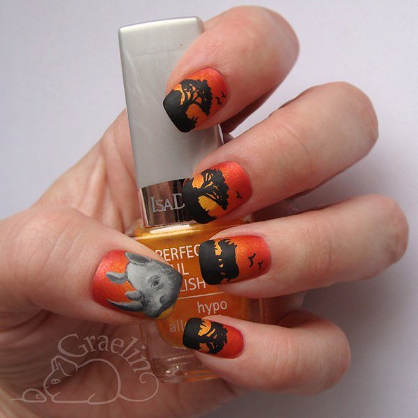 Save the Rhino International launches annual nail art campaign | The ...