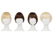 Zen Hair Clip In Fringes